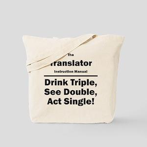 Translator Tote Bag