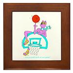 Ok-9 (ok9) Inspiration(basketball) Framed Tile