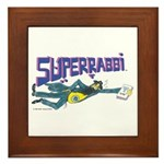 Superrabbi Framed Tile