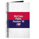 """""""McCain-Palin for President"""" Journal"""
