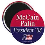 """McCain-Palin"" 2.25"" Magnet (10)"