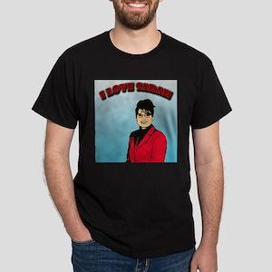 I love Sarah Dark T-Shirt