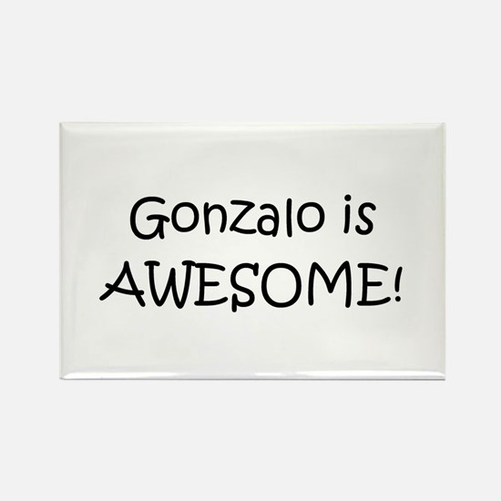 Funny Gonzalo Rectangle Magnet