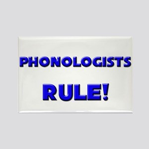 Phonologists Rule! Rectangle Magnet