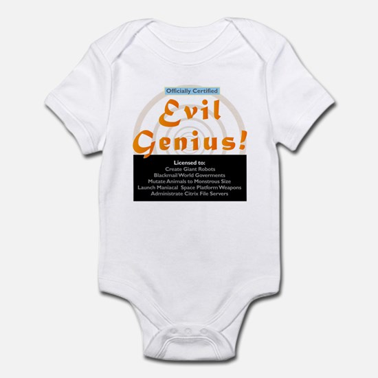 Citrix Certifiied Evil Genius Infant Bodysuit