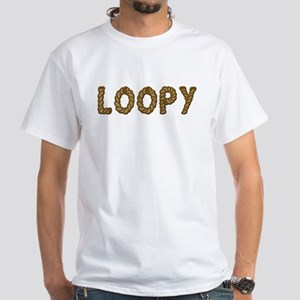 Loopy White T-Shirt