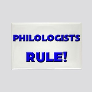 Philologists Rule! Rectangle Magnet