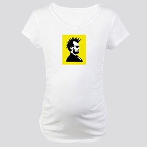 Abraham Lincoln Rocks! Maternity T-Shirt