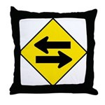 Goes both ways - Throw Pillow