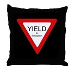 Yield to Temptation - Throw Pillow