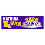 BUSH BLEW IT Bumper Sticker