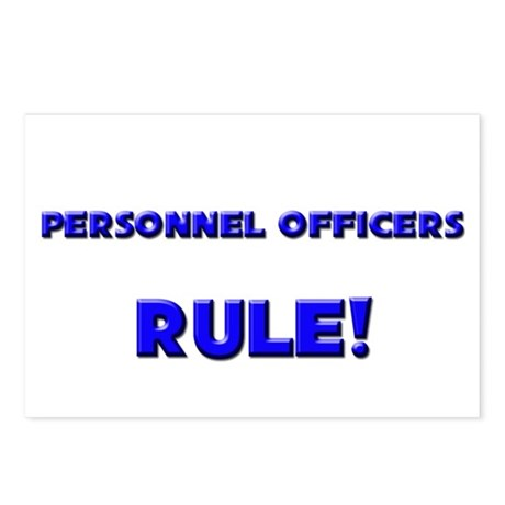 Personnel Officers Rule! Postcards (Package of 8)