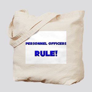 Personnel Officers Rule! Tote Bag