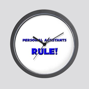 Personal Assistants Rule! Wall Clock