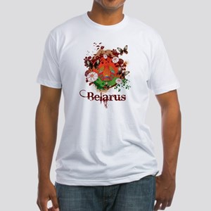 Butterfly Belarus Fitted T-Shirt