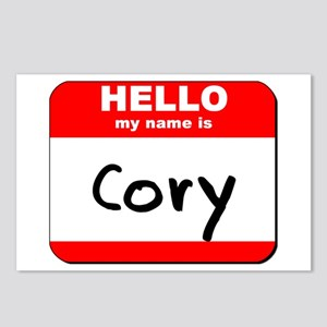 Hello my name is Cory Postcards (Package of 8)