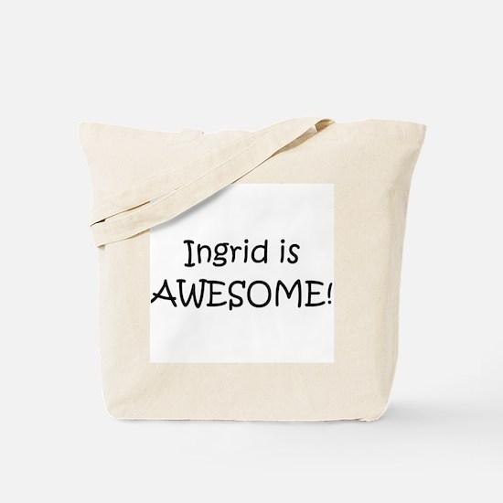 Funny Ingrid Tote Bag