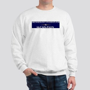 ARCHAEOLOGY STUDENTS for McCa Sweatshirt