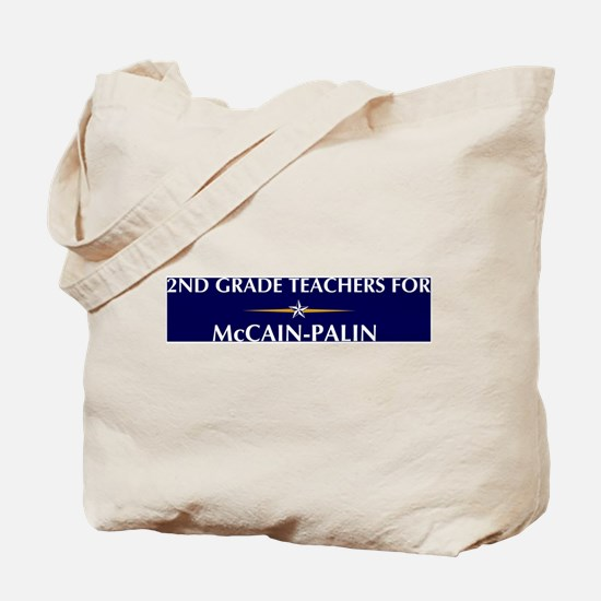 2ND GRADE TEACHERS for McCain Tote Bag