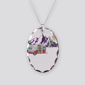 Glamping Always At Home Wherev Necklace Oval Charm