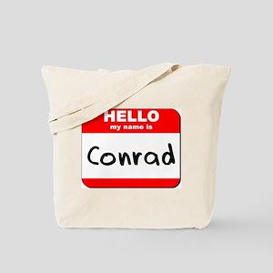 Hello my name is Conrad Tote Bag