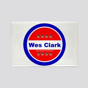 """Clark for President"" Rectangle Magnet"