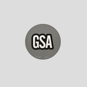 GSA Mini Button - Gray