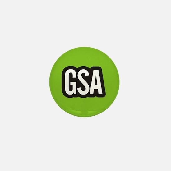 GSA Mini Button - Light Green