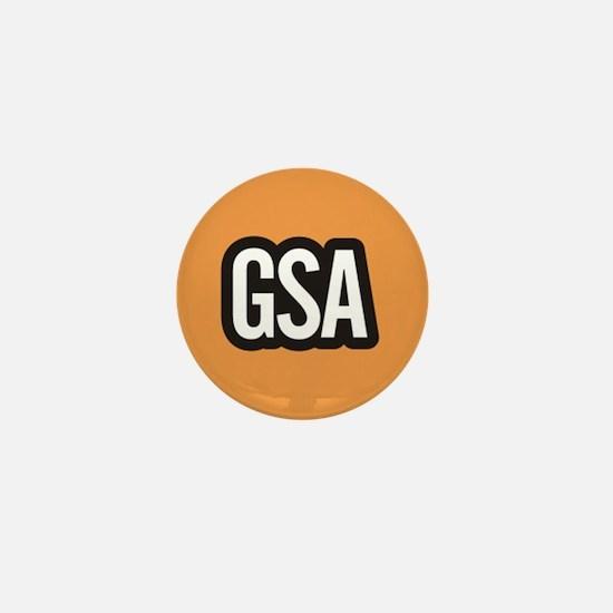 GSA Mini Button - Light Orange