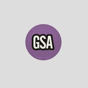 GSA Mini Button - Purple