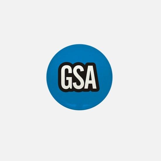 GSA Mini Button - Sky Blue