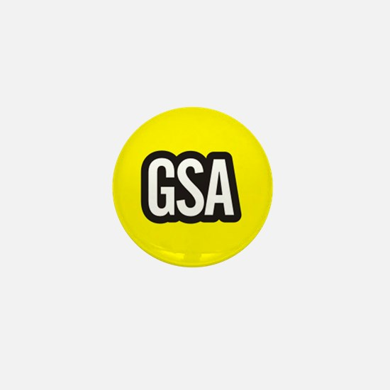 GSA Mini Button - Yellow