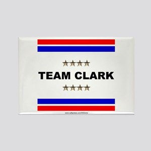 """Team Clark"" Rectangle Magnet"