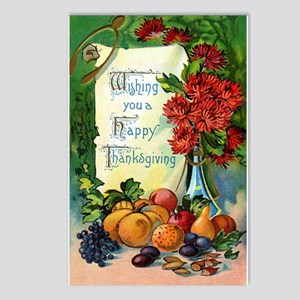 Vintage Happy Thanksgiving Postcards (8 pk)