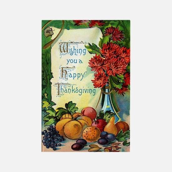 Vintage Happy Thanksgiving Magnets (100 pk)