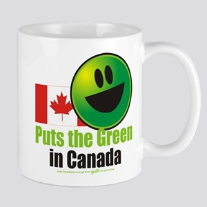 Puts the Green in Canada Mug