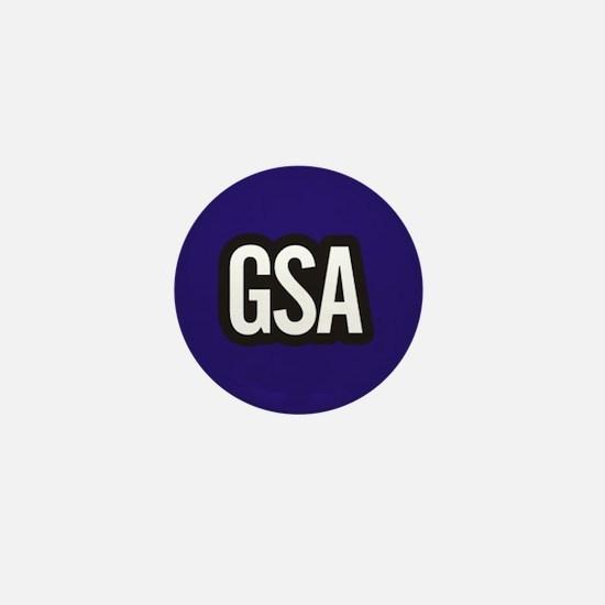 GSA Mini Button - Dark Blue