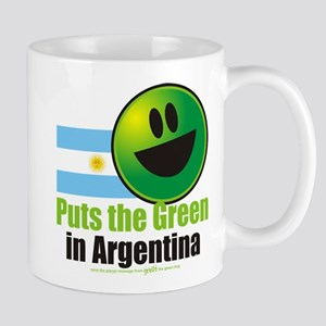 Puts the Green in Argentina Mug
