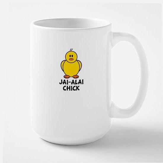 Jai-Alai Chick Large Mug