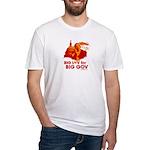 Obama Big Luv for Big Gov Fitted T-Shirt