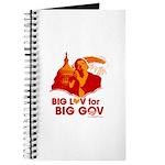 Obama Big Luv for Big Gov Journal