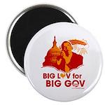 Obama Big Luv for Big Gov Magnet