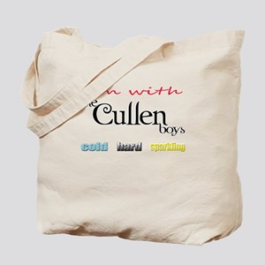 I'm with the Cullen boys Tote Bag