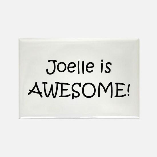 Unique Joelle Rectangle Magnet