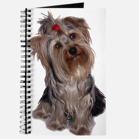 yorkie portrait Journal