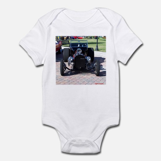 BLACK HOT ROD Infant Bodysuit