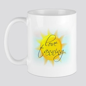 LOVE TANNING Mug