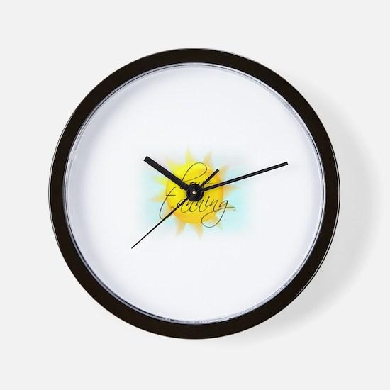 LOVE TANNING Wall Clock