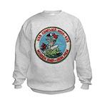 USS CONFLICT Kids Sweatshirt