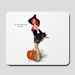 Do we really need a broom Mousepad